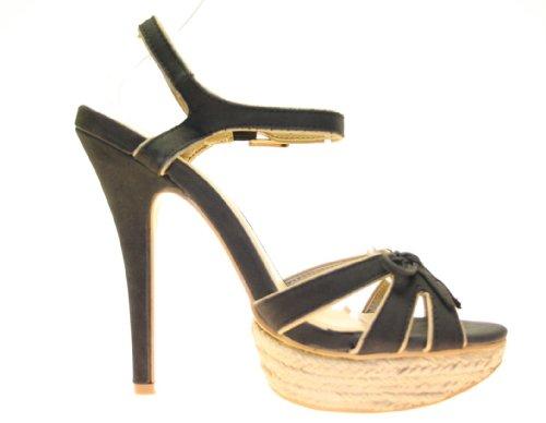 More Styling , Bride cheville femme Noir - Noir