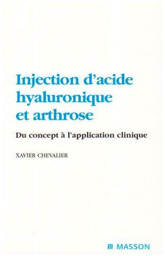 Injection d'acide hyaluronique et arthrose: ETICOM