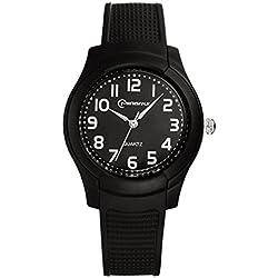 Casual watches for men and women/Fashion quartz watch/Sports waterproof watch-A