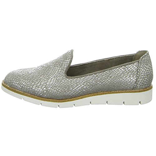 Pep Step 9623503Femme Chaussons Chaussures basses Sportif sol Casual Gris - Argent