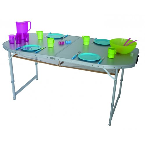 Price comparison product image Eurotrail Aluminium Folding table,  Crouzet 2012