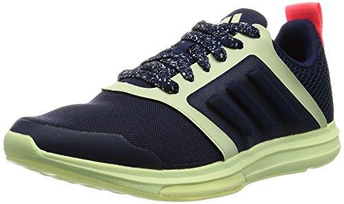 Adidas Damen Yvori 'Stellasport' Hohe Sneaker Blau (Blue/White/Red Blue/White/Red) , 40 2/3 EU -
