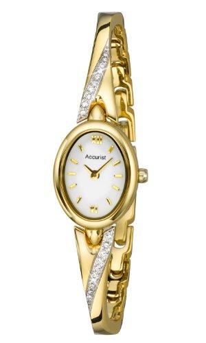 Accurist LB1646W - Reloj para mujeres color dorado
