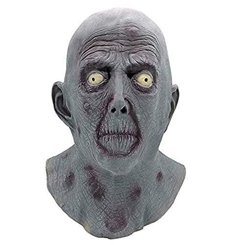 Maske Maskerade Prom Maske Neuheit Halloween Alter Mann Glatze Maske Latex Kopfschmuck Lustige Horror Maske Requisiten Unheimlich Maskerade Und Rollenspiele,Gruselige Maske -