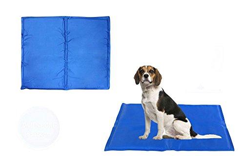 Vetrineinrete® Tappetino rinfrescante in gel per cani e gatti rinfresca in estate tappeto fresh mat refrigerante varie misure