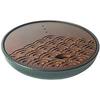 Clevoers - Bandeja de té de bambú Chino Kungfu para hostelería o hogar, Redonda,