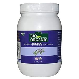Indus Valley Organic Indigo Leaf Powder, 400g