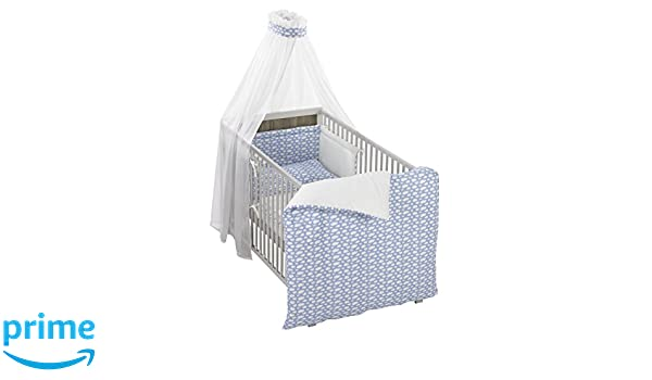 Alvi himmelset bettset wolke blau amazon baby