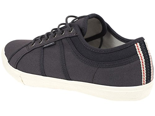 Jack and jones - Wross pewter canvas - Chaussures basses toile Gris Anthracite foncé