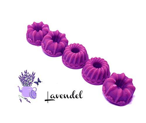 Lavendel | 5er Set – Duftwachs | Duftkerzen | Duftmelt