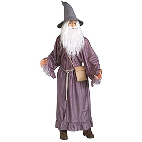 Gandalf Le Gris - Gandalf Costume Magicien Costume Gandolph Habit Lilas