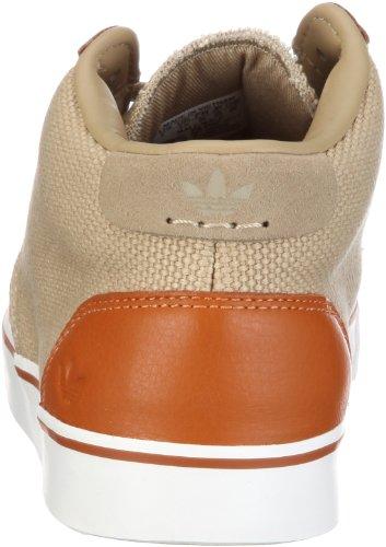 adidas Originals Foray M, Baskets Basses Mixte Adulte Beige - Beige/CLEAR SAND F11 / CLEAR SAND F11 / ORIGINALS SPICE F11