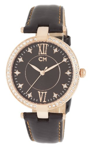 Carlo Monti CM506-322 Messina, Ladies watch, Analogue display, Quartz with Citizen Movement - Water resistant, Stylish leather strap, Elegant women's watch
