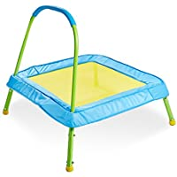 Worlds Apart Kid Active Easy Assembly Childrens Junior Indoor Outdoor Trampoline