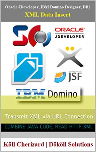 Oracle JDeveloper, IBM Domino Designer, DB2, XML Data Insert: Transmit XML via URL Connection (English Edition)
