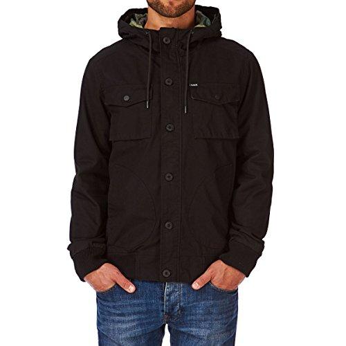 Hurley Giacca da uomo All City Troops giacca Nero