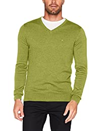 TOM TAILOR Herren Pullover Basic V-Neck Sweater