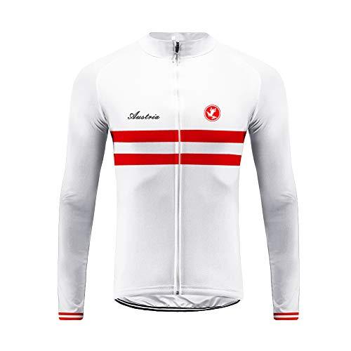 Uglyfrog Fiammifero Grigio Designs Manica Lunga Uomini Cycling Jersey Zip Jacket Ciclo Completo Shirt Traspirante Leggero e Comodo Mountain Bike Abbigliamento Top