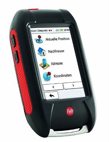 Falk Outdoor-GPS LUX 22, 3 Zoll Touchscreen, Basiskarte Plus (EU