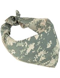 100% Cotton ACU Digital Camouflage Bandana
