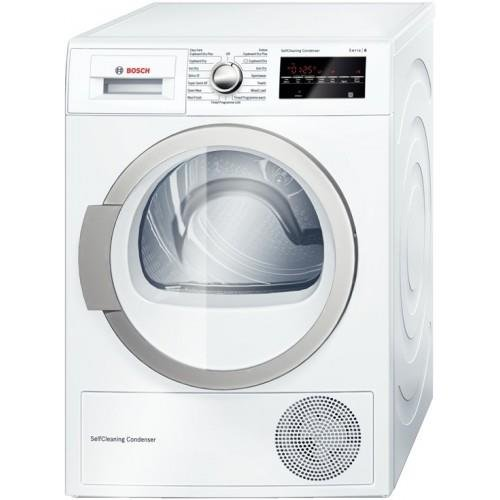 Bosch WTW85492GB 8kg Heat Pump Tumble Dryer - White