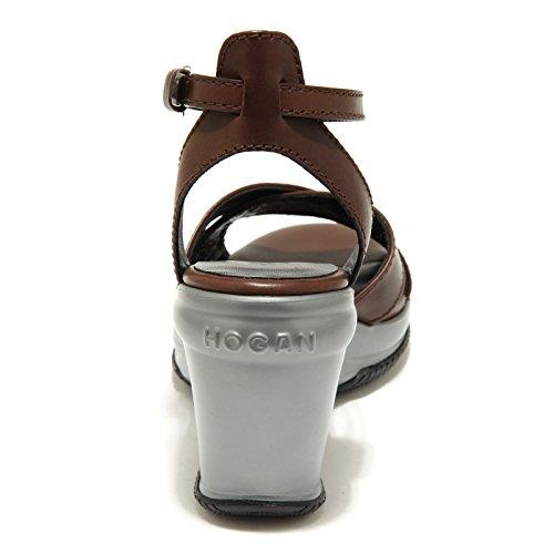 9890 sandali marroni HOGAN attractive sandalo donna shoes women Marrone