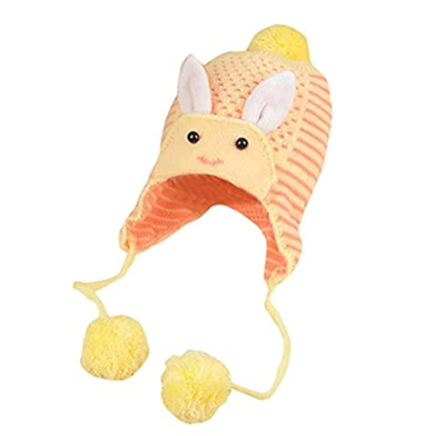 Bluestercool Casquette pour bébés garçon fille tricot Soft Hat (38-46cm,