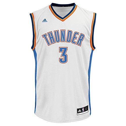 Fanartikel Adidas Kevin Durant #35 Oklahoma Stadt Thunder Blau NBA Trikot Youth Medium Basketball