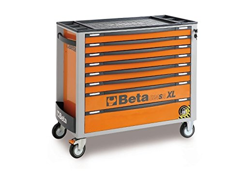 Beta Tools c24sa-xl 8/o-carro COM Oito gavetas