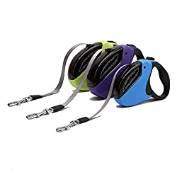 Generic Purple, 50KG : Best quality Engineering Plastic 5M 50KG Automatic Retractable Dog Leash Medium Large Dog Leash For Pet Puppy Dog Accessories