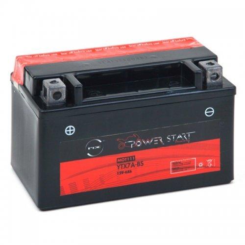 NX - Batteria moto YTX7A-BS / GTX7A-BS 12V 6Ah
