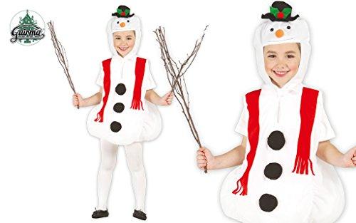 Imagen de disfraz de muñeco de nieve infantil 5 6 años