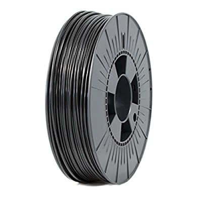 ICE FILAMENTS ICEFIL3PLA004 PLA Filament, 2.85 mm, 0.75 kg, Brave Black