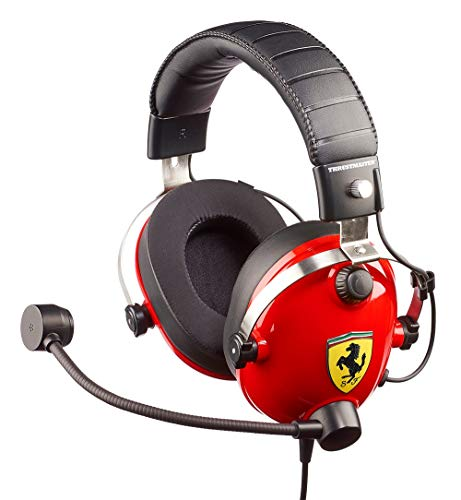 Cuffie da gioco T. Racing Scuderia Ferrari Edition (PS4/Xbox/PC)