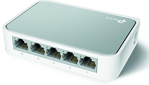 TP-Link TL-SF1005D Netzwerk Switch (5x 10/100MBit/s RJ45 ports) weiß