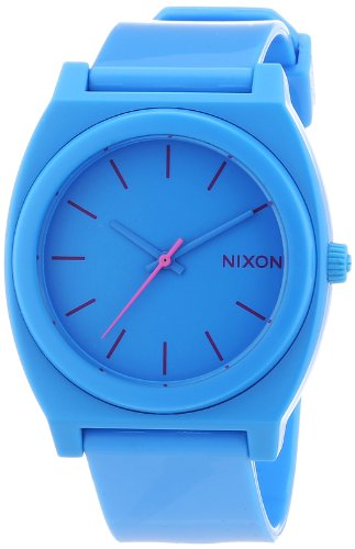nixon-a119606-00-montre-mixte-quartz-analogique-bracelet-plastique-bleu