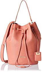 Stella Ricci Womens Shoulder Bag (Pink) (SR108HPNK)