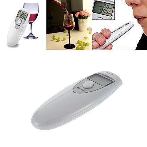 MASODHDFX Analizador Profesional de probador de Aliento de Alcohol Digital de Bolsillo...