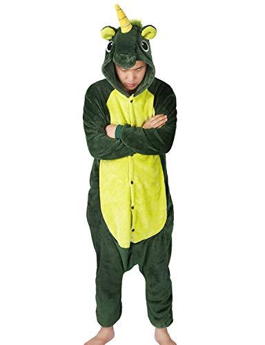 Animali Pigiama Unisex Carnevale Cosplay Costume Sleepwear Halloween per  Adulti (L(Fit 168-178CM) 626991a91bf