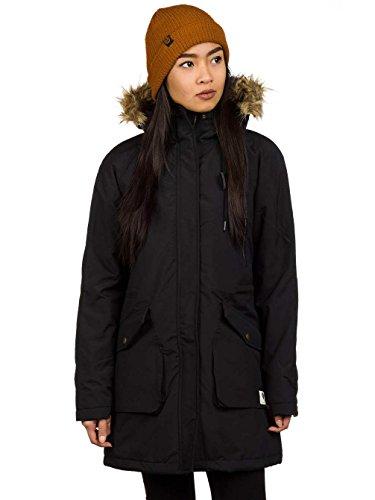 Damen Mantel Ezekiel Ripley Parka 2 Mantel Black