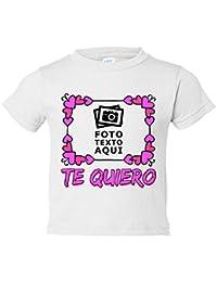 Camiseta niño personalizada con foto te quiero