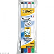 BIC Velleda 1721 Whiteboard Markers Assorted Colours 4 Pack