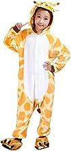 Moollyfox Pijamas Ropa de Dormir Disfraz de Animal Cosplay Para Niños Jirafa