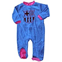 Pijama Bebé Terciopelo FC Barcelona Oficial 2017-2018