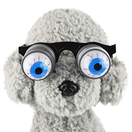 Schreckliche Kostüm - PanDaDa Hund Halloween Brille für Party Cosplay, Schreckliche und Lustige Brille Hundekostüm Für Halloween Cosplay Kostüm