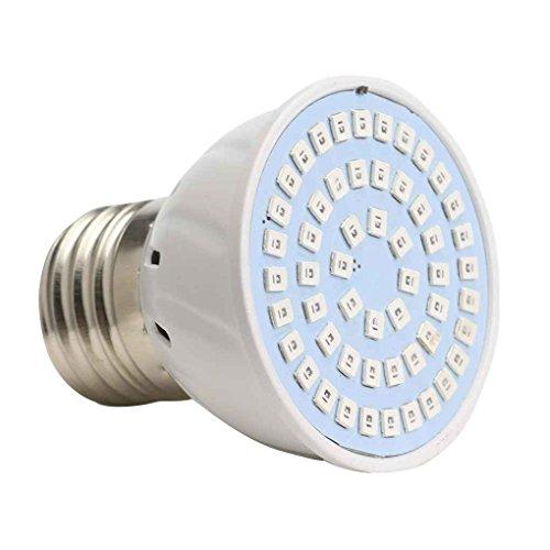Mengonee E27 2835 36/54 / 72 3W 4W 5W Rot Blau Anlage wachsen Lampen-Licht Full Spectrum Lampen für Innengewächshaus -