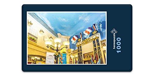hansepuzzle 12684 Gebäude - Hotel Paris, 1000 Teile in hochwertiger Kartonbox, Puzzle-Teile in wiederverschliessbarem Beutel. -