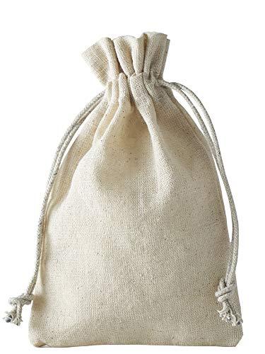 10 bolsas lino, bolsitas lino cordón algodón cerrar