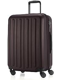 HAUPTSTADTKOFFER–Tegel–Piloto con ruedas a bordo Juego de 3hard-side equipaje trolley Hardside maleta expandible, TSA, (38cm, 55cm y 75cm)
