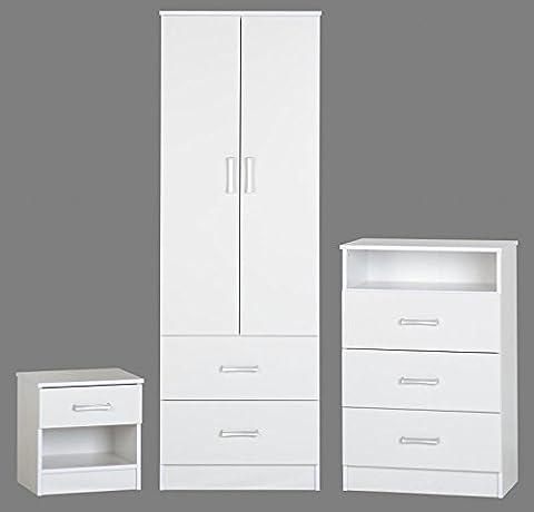 Polar Bedroom Set (White)